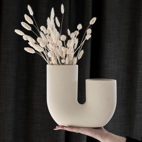 Storefactory Vase Stråvalla Keramik Beige
