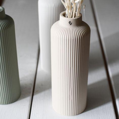 Storefactory Vase Ådala Keramik Beige