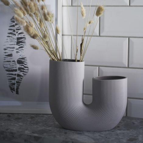 Storefactory Vase Stråvalla Light Grey Keramik