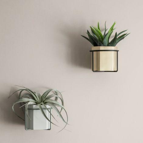 ferm LIVING Pflanzenhalter Black