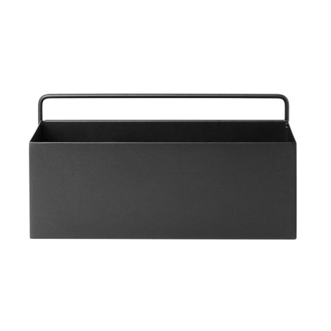 ferm LIVING Aufbewahrungsbox Wand Rectangle Black