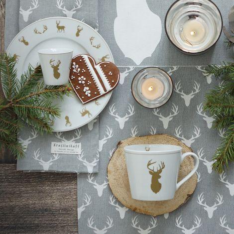 Krasilnikoff Espresso-Becher Winter Lodge