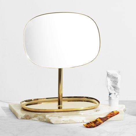 Normann Copenhagen Spiegel Flip Brass