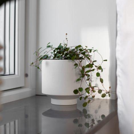 Storefactory Vase/Übertopf Kiaby Weiß