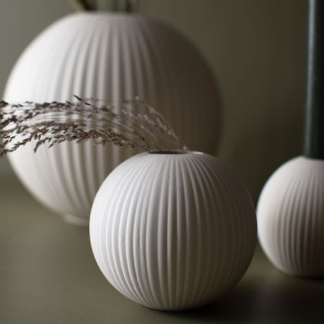 Storefactory Vase Vena Small Beige