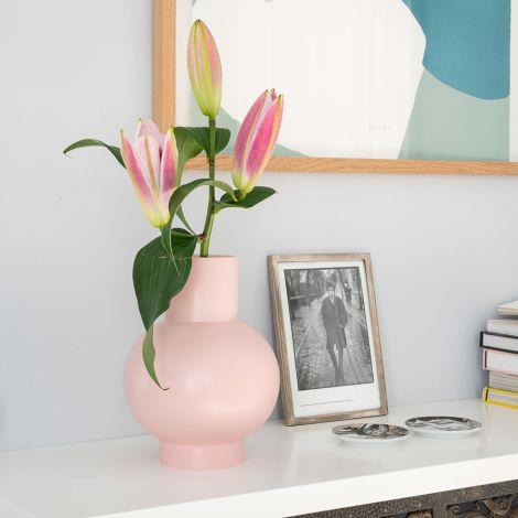 raawii Vase Strøm 24 cm Coral Blush