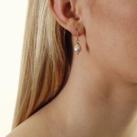 Dansk Smykkekunst Ohrringe Audrey Vergoldet •