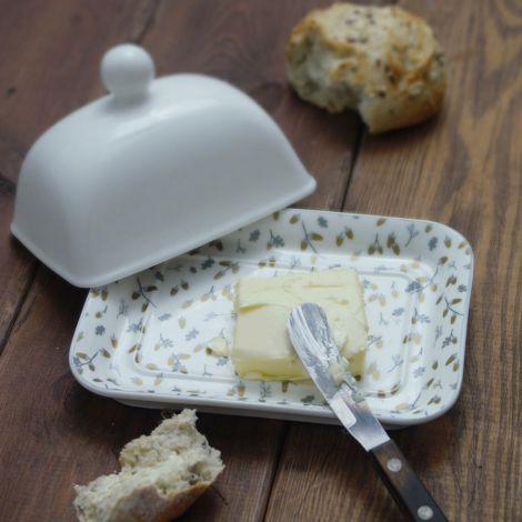 Krasilnikoff Deckel für Butterdose White