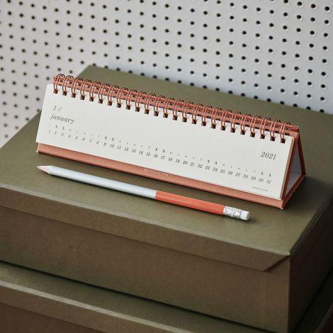 Monograph by House Doctor Tischkalender 2021 Orange