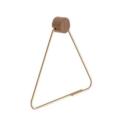 ferm LIVING  Toilettenpapier-Halter Messing