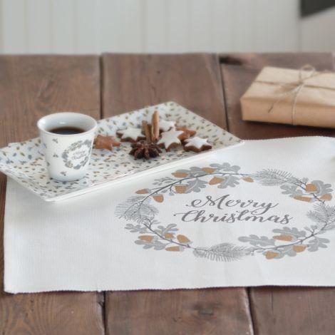 Krasilnikoff Espresso Tasse Frohe Weihnachten