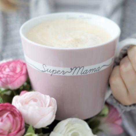 Krasilnikoff Tasse Happy Cup Super Mama
