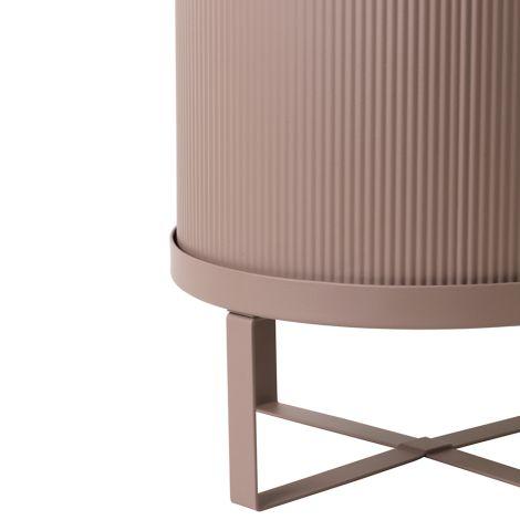 ferm living bertopf mit st nder bau dusty rose l online. Black Bedroom Furniture Sets. Home Design Ideas