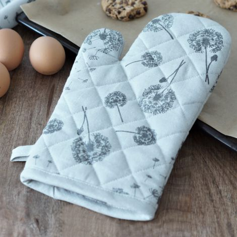 Krasilnikoff Ofenhandschuh Grey Heart