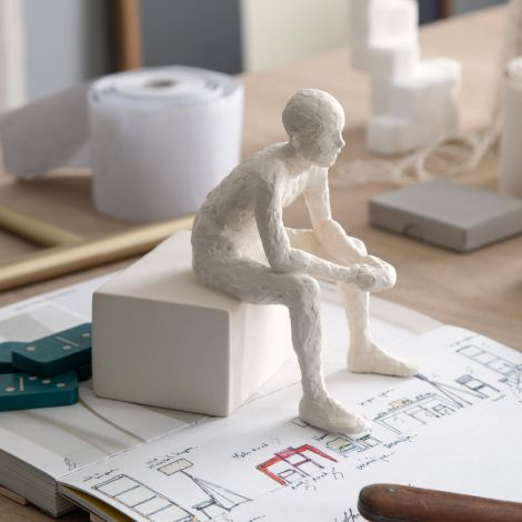 Kähler Design Deko-Figur The Reflective One 14 cm unglasiert