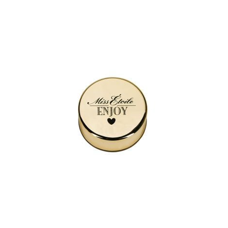 Miss Étoile Wasserflasche Silikon Gold •