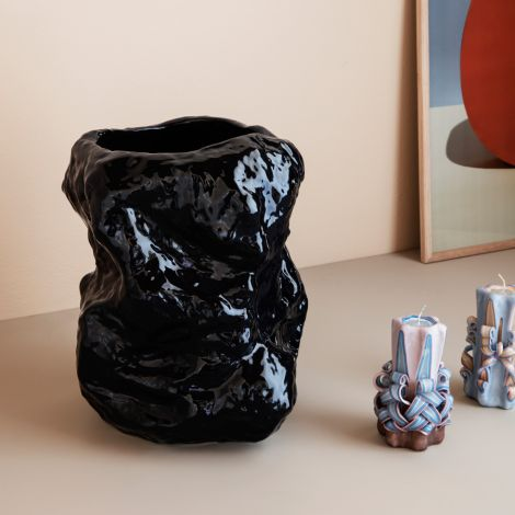 ferm LIVING Vase Tuck Blue