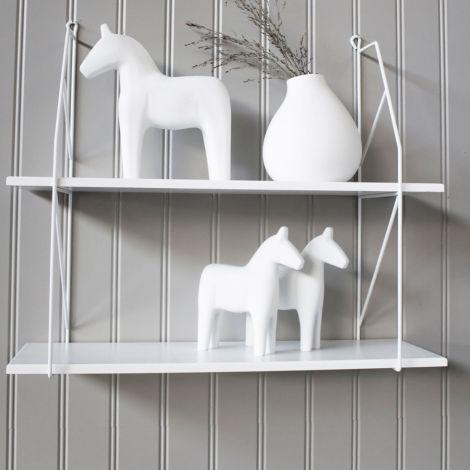 Storefactory Deko-Pferd Rättvik Grey