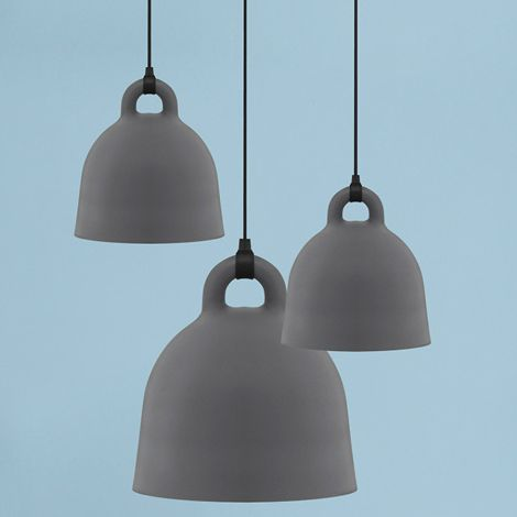 Normann Copenhagen Bell Deckenlampe Medium Grey