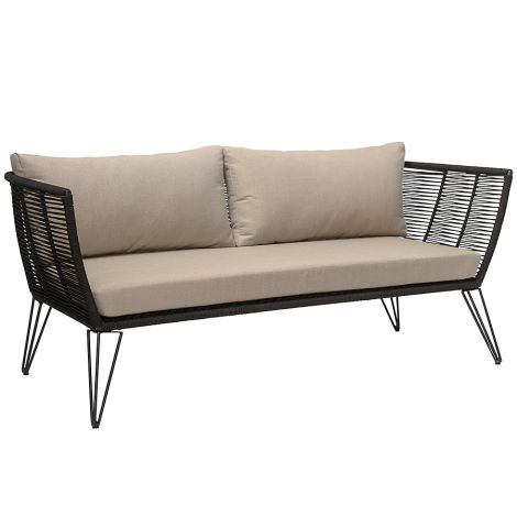 Bloomingville Sofa Lounge Mundo Black