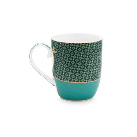 PIP Studio Kleine Tasse Winter Wonderland Bird Green 145ml