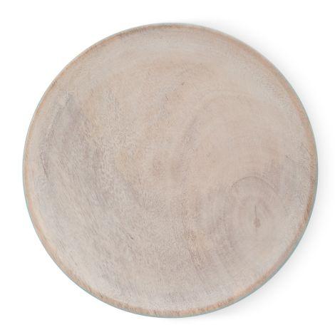PIP Studio Teller Holz & Emaille Blue 17 cm