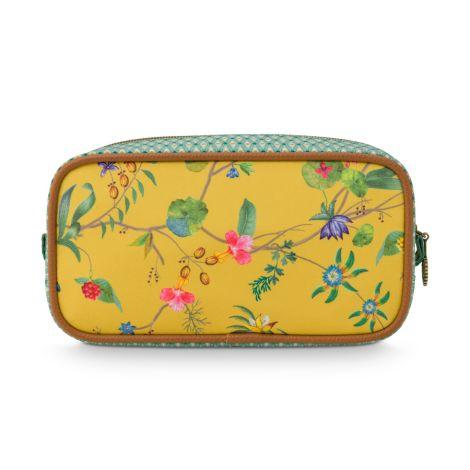 PIP Studio Kosmetiktasche Square Small Petites Fleurs Yellow