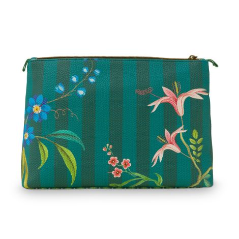 PIP Studio Kosmetiktasche Combi Fleur Grandeur Green 2-teilig
