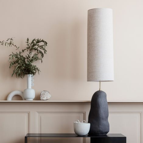 ferm LIVING Lampenschirm Hebe Natural Long