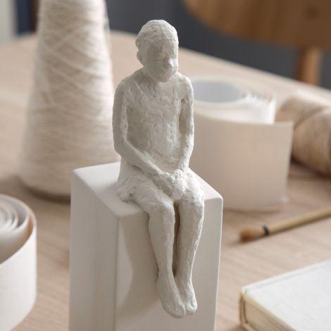 Kähler Design Deko-Figur The Dreamer 21.5 cm unglasiert