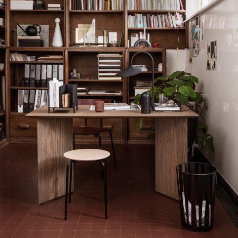 ferm LIVING Tischbeine Mingle Wood Black Veneer 48 cm