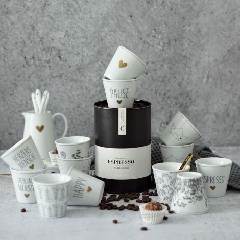 Krasilnikoff Espresso Becher Pusteblume