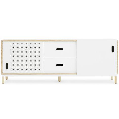 Normann Copenhagen Kabino Sideboard mit Schubladen White