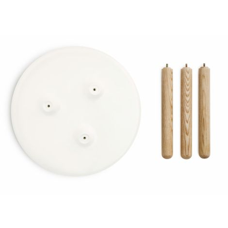 Normann Copenhagen Tablo Tisch Large White
