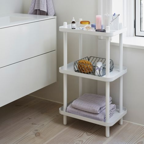 Normann Copenhagen Standregal Block White/White