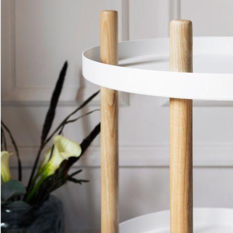 Normann Copenhagen Block Tisch Ø45cm White