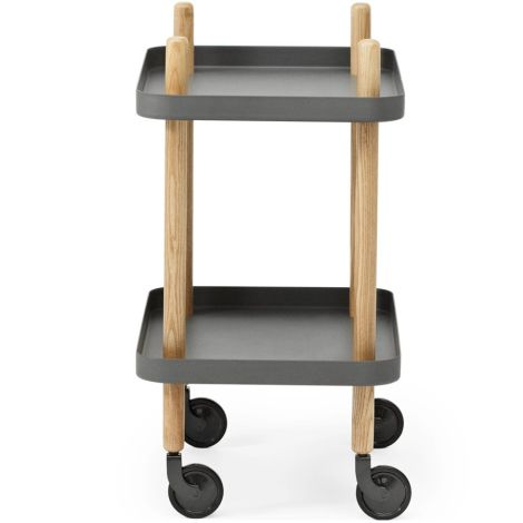 Normann Copenhagen Block Tisch Dark grey