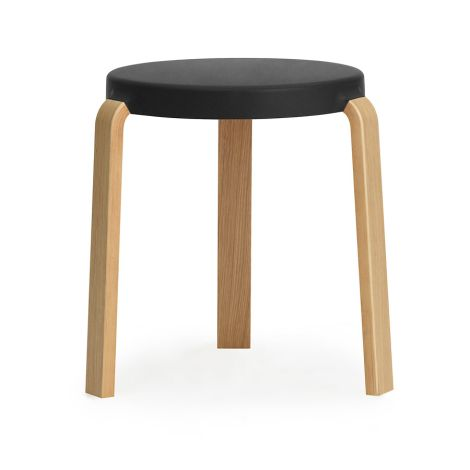 Normann Copenhagen Tap Hocker Oak Black