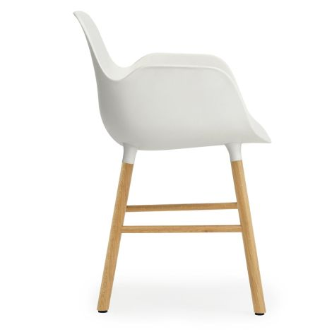 Normann Copenhagen Form Lehnstuhl Oak/White