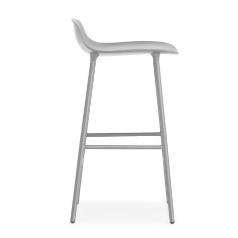 Normann Copenhagen Form Barstuhl 65cm Steel/Grey