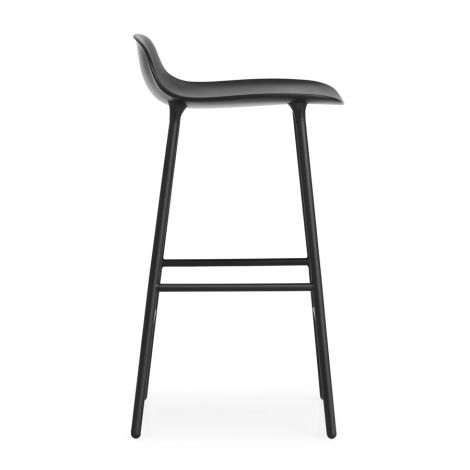Normann Copenhagen Form Barstuhl 65cm Steel/Black