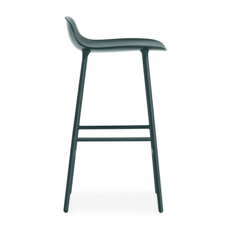 Normann Copenhagen Form Barstuhl 65cm Steel/Green