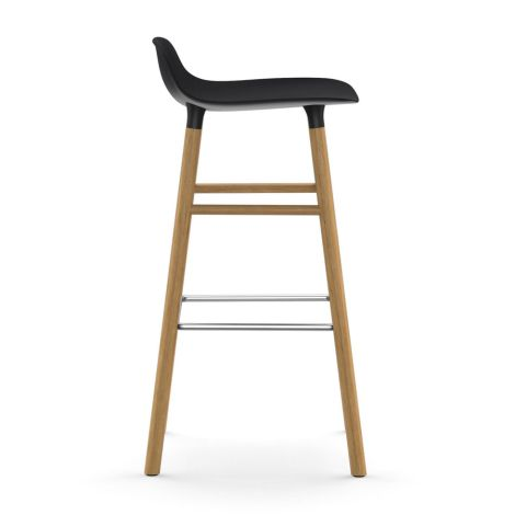 Normann Copenhagen Form Barstuhl 75cm Oak/Black