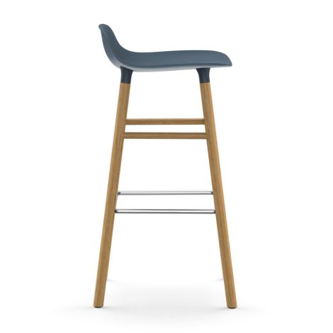 Normann Copenhagen Form Barstuhl 75cm Oak/Blue