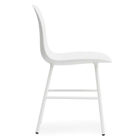 Normann Copenhagen Form Stuhl Steel/White