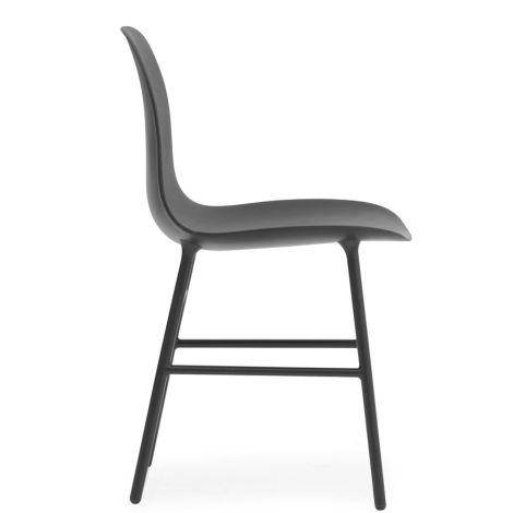 Normann Copenhagen Form Stuhl Steel/Black