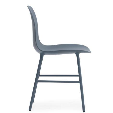 Normann Copenhagen Form Stuhl Steel/Blue