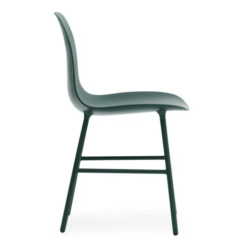 Normann Copenhagen Form Stuhl Steel/Green