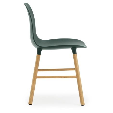 Normann Copenhagen Form Stuhl Oak/Green
