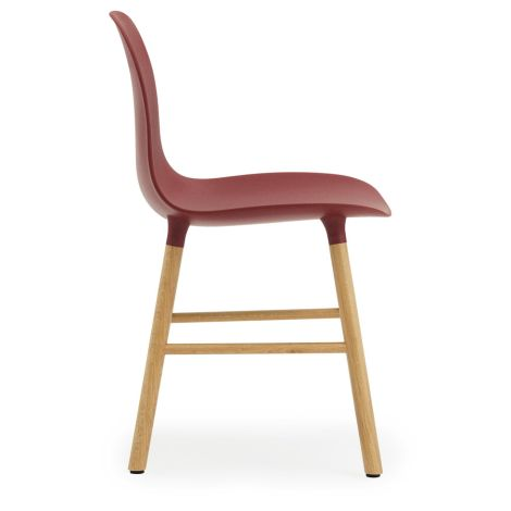 Normann Copenhagen Form Stuhl Oak/Red